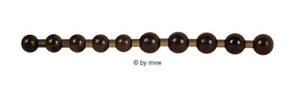 Jumbo Thai Beads black