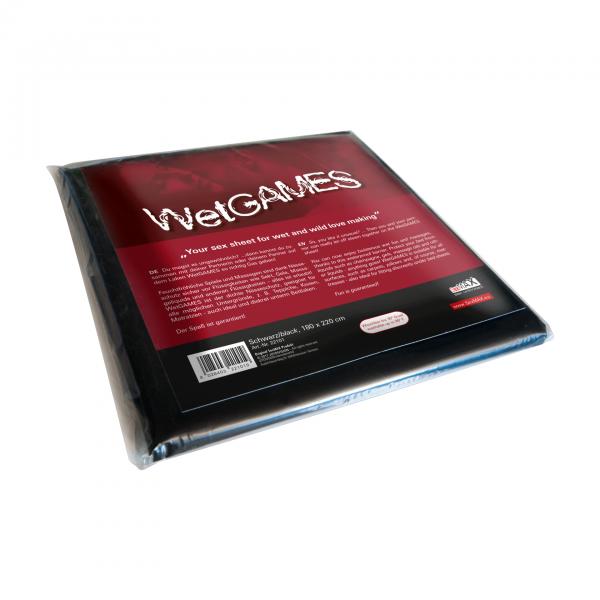 SexMAX Sex-Laken für feuchte Spiele 180x220cm schwarz