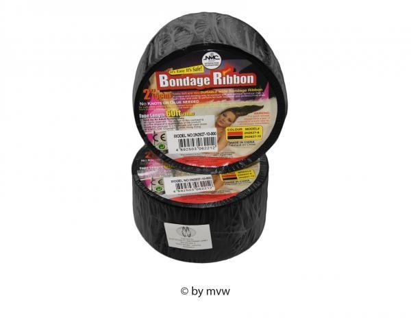 Bondage Ribbon Band schwarz