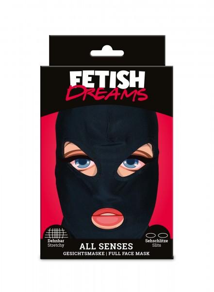 Fetish Dreams All Senses Stoff Maske