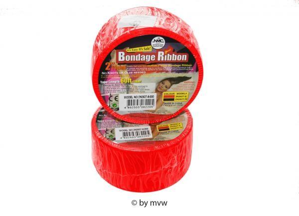 Bondage Ribbon Band rot