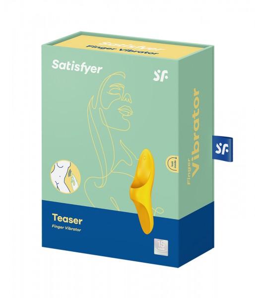 Satisfyer Teaser Finger Vibrator Gelb