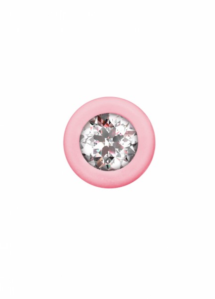 Anal bead with crystal Emotions Chummy Pink