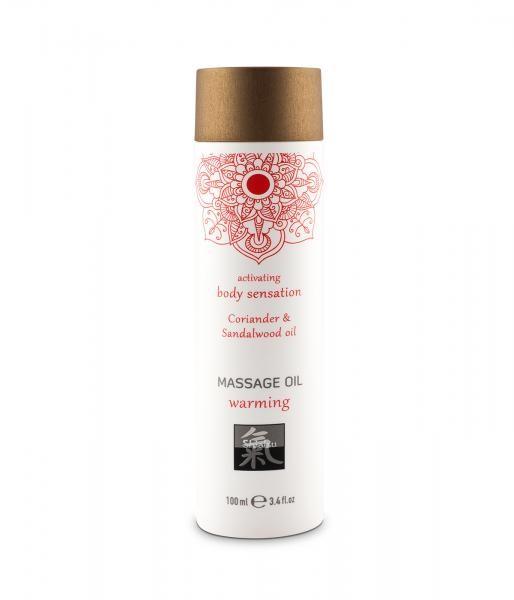 HOT Massage Öl Coriander & Sandalwood 100ml