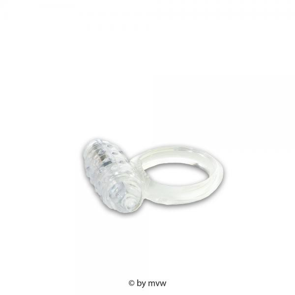 Cockring Silicone Vibrating Clear