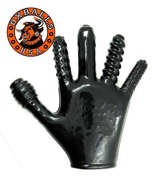 Oxballs Finger Fuck Glove black one size