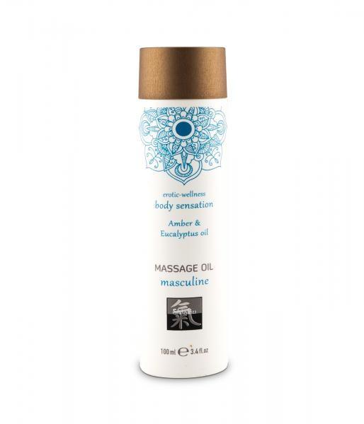 HOT Massage Öl Amber & Eucalyptus 100ml
