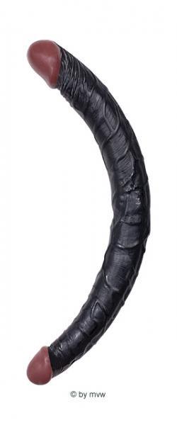 Hoodlum Realistic Double Dong ca.36 cm Black