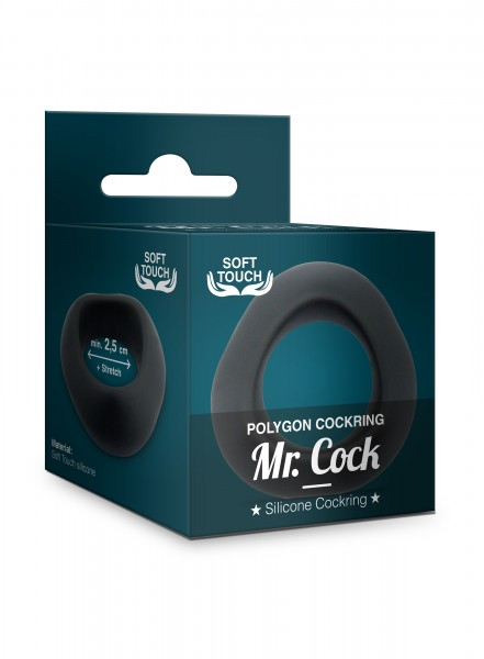 Mr. Cock Silikon Penis Ring Polygon Soft Touch