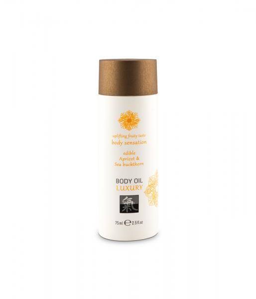 HOT Edible Body Oil Apricot & Sea buckthorn 75ml