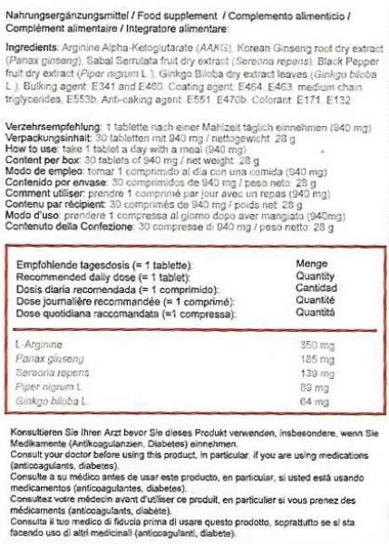 Sizegain plus Tablets 30 pcs