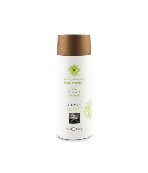 HOT Edible Body Oil Coconut & Pineapple 75ml