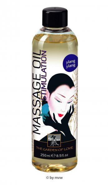 Shiatsu Massage Oil Stimulation Ylang Ylang 250ml