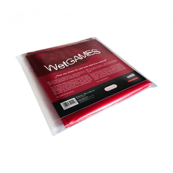 SexMAX Sex-Laken für feuchte Spiele 180x220cm rot