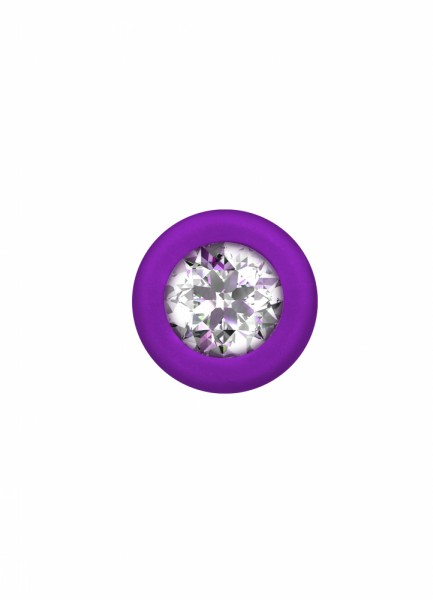 Anal bead with crystal Emotions Chummy Purple