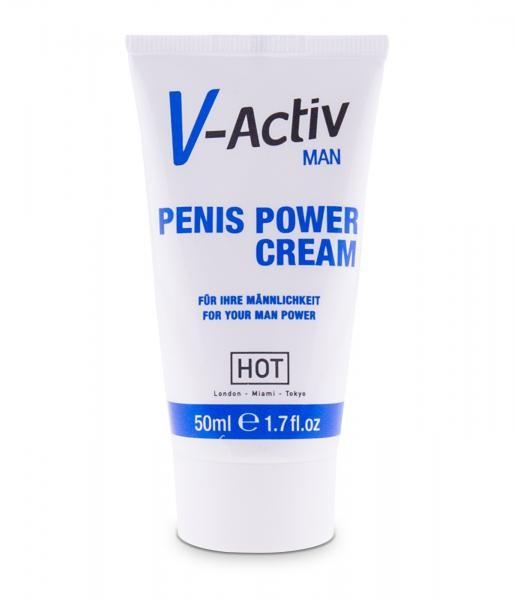 HOT V-Activ for Men Penis Power Delay Cream 50ml