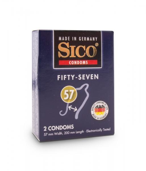 Sico Kondome 57mm 2er