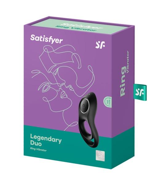 Satisfyer Legendary Duo Ring Vibrator Schwarz