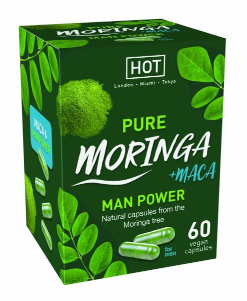 HOT Premium Moringa Man Power Kapseln 60 Stk.