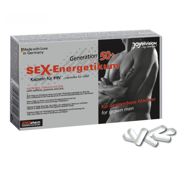 Sex Energetikum Generation 50+ 40 Kapseln