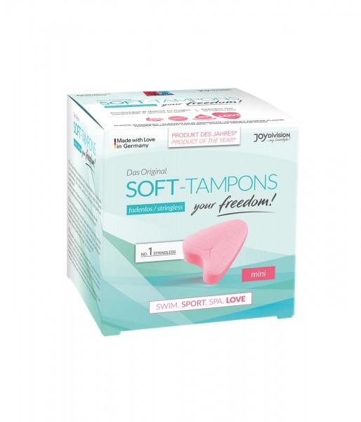 Soft Tampons mini / trocken 3 Stk.