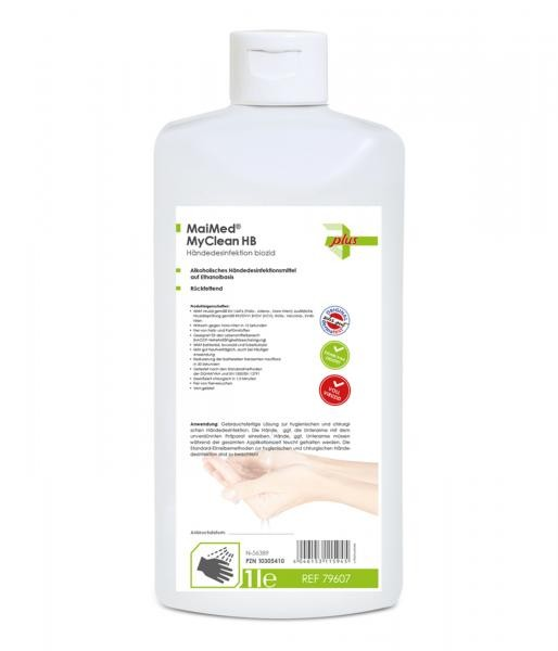 MaiMed My Clean Handdesinfektion Biozid 1000 ml