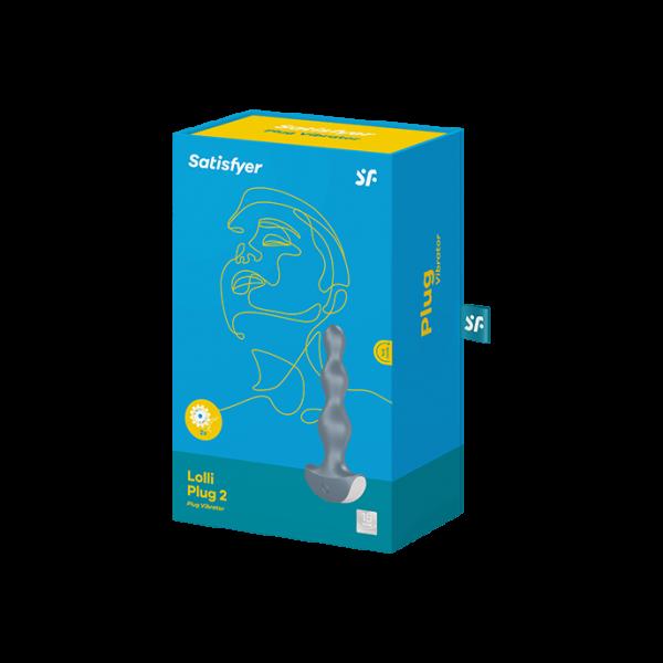 Satisfyer Lolli Plug 2 Analplug Ice blue