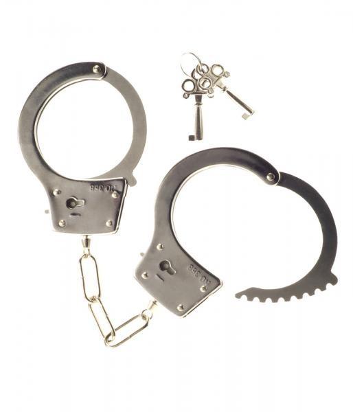 Kinx Heavy Metal Handcuffs silver