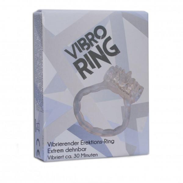 Penisring mit Vibration Transparent