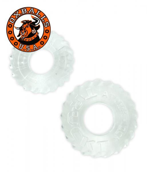 Oxballs Truckt Cockrings 2 pieces clear
