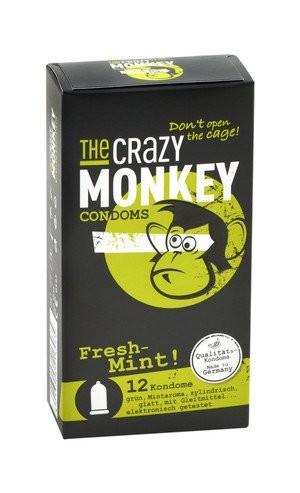 The Crazy Monkey Condoms Fresh-Mint 12 stück