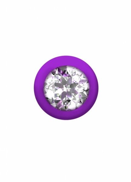 Anal bead with crystal Emotions Buddy Purple
