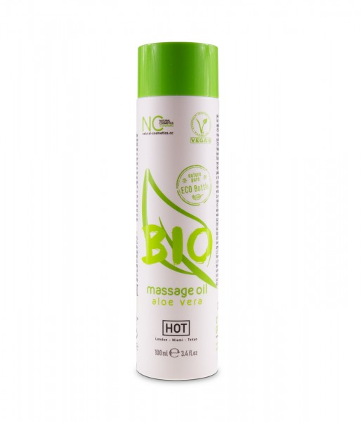 HOT Bio veganes Massage Öl Aloe Vera 100ml