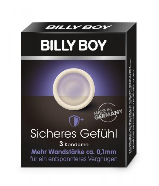 Billy Boy Kondome Sicheres Gefühl 3 Stück