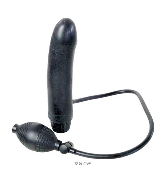 The Contour inflatable Vibrator ca.20.0cm black