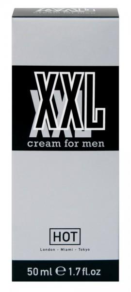 HOT XXL Creme für Männer durchblutungsfördernd 50ml