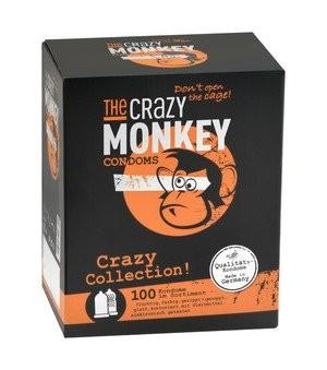 The Crazy Monkey Condoms Crazy Collection 100 stück