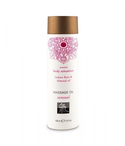 HOT Massage Öl Indian Rose & Almond 100ml