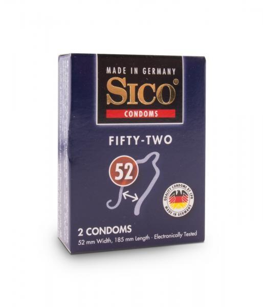 Sico Kondome 52mm 2er
