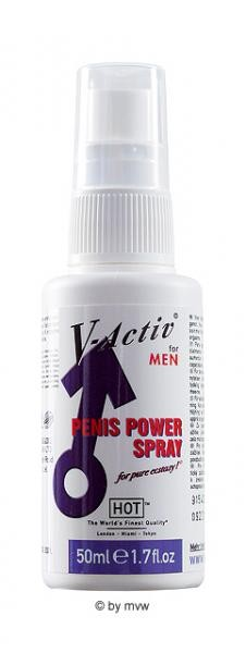HOT V-Activ Penis Power Delay Spray 50ml