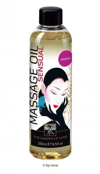 Shiatsu Massage Oil Sensual Jasmin 250ml