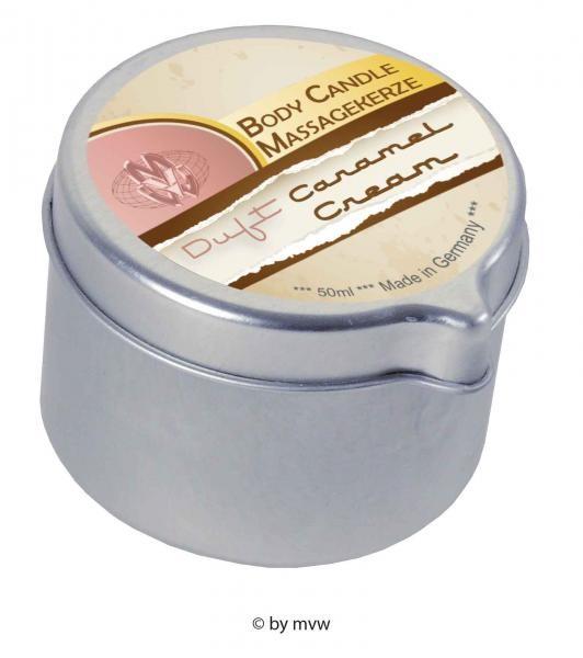 Body Candle Massagekerze Caramel Cream 50 ml