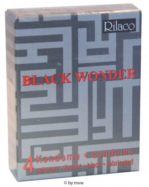 Rilaco Black Wonder 4 Kondome