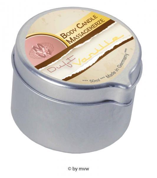 Body Candle Massagekerze Vanille 50 ml