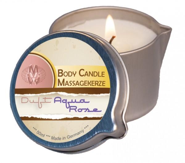 Body Candle Massagekerze Aqua-Rose 50 ml