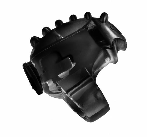 Vibrating sleeve for finger Chillax Black